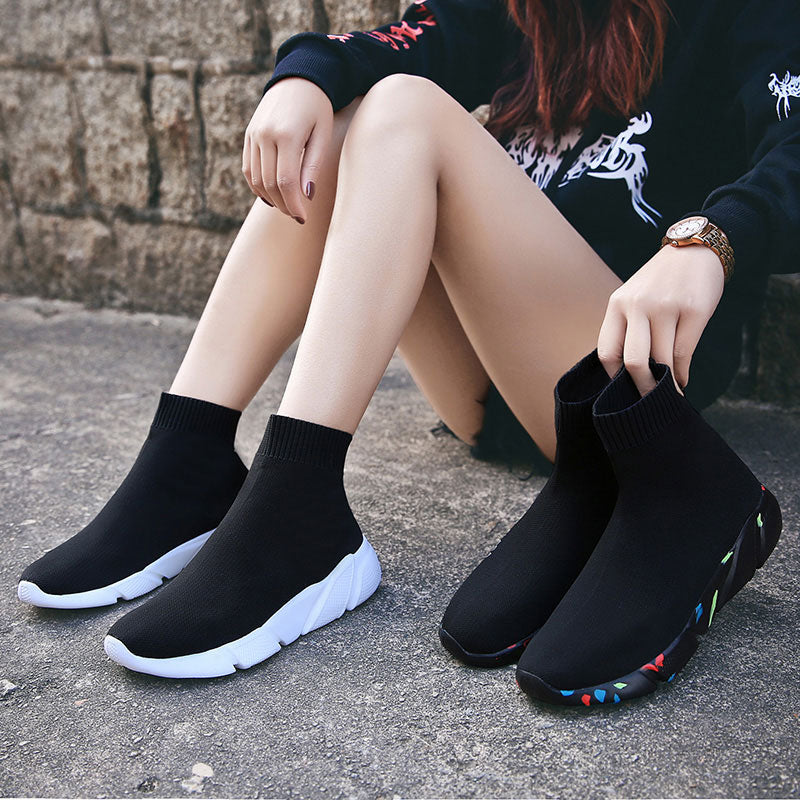 Woman Comfortable Breathable Mesh Soft Sole Sneakers - MARI MAR SHOP