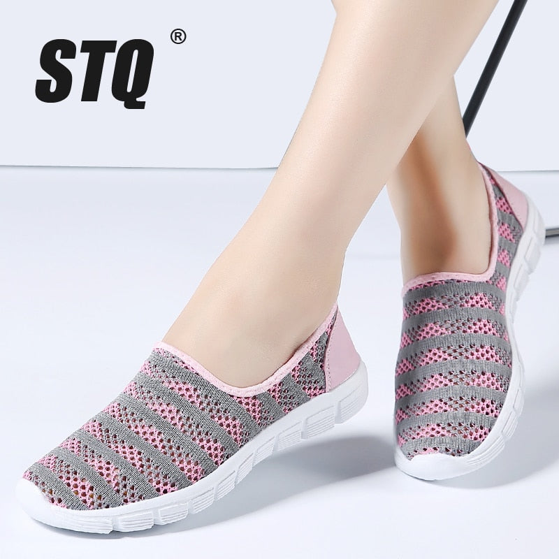 Women Breathable Mesh Sneakers - MARI MAR SHOP