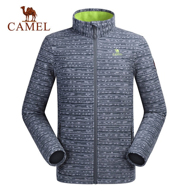 CAMEL Outdoor Fleece Hiking Couple Jacket Windbreaker Soft shell Thick Warm Coat (tm1)(wo1) - MARI MAR SHOP