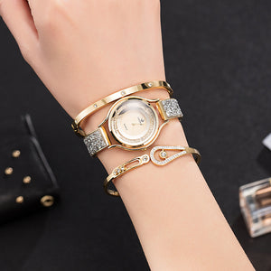 Women Bracelet Watches Set 3 Pcs