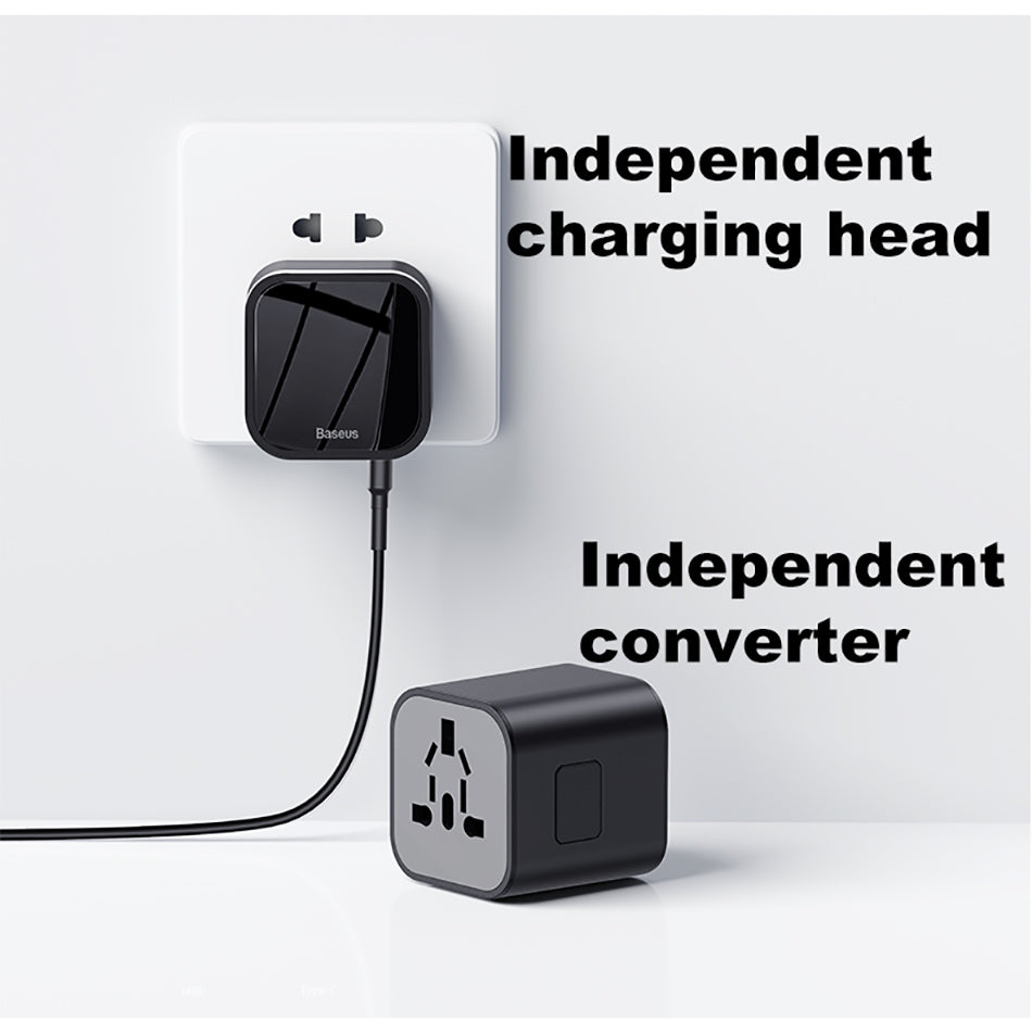 UNIVERSAL 18W Travel EU USB Charger Support Quick Charge 3.0 APPLE/ANDROID