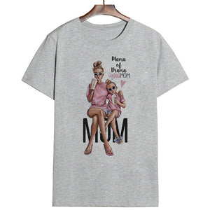 Mother's Day T Shirt Women Super Mom Tshirt (wo1)