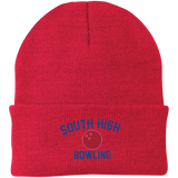 Knit Winter Hat - South Glens Falls Bowling