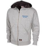 Thermal Fleece Hooded Sweatshirt - Middletown Softball - Block Logo