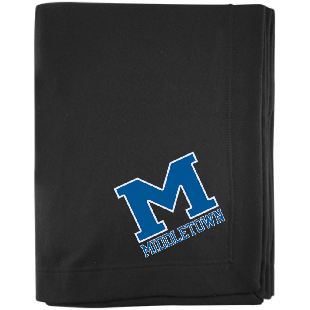 "Sweatshirt Blanket - Middletown ""M"""