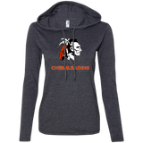 Women's T-Shirt Hoodie - Cambridge Cheerleading - Indian Logo