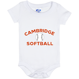 Baby Onesie 6 Month - Cambridge Softball