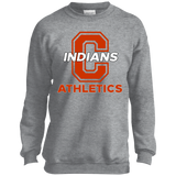 Youth Crewneck Sweatshirt - Cambridge Athletics - C Logo