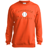 Youth Crewneck Sweatshirt - Cambridge Softball
