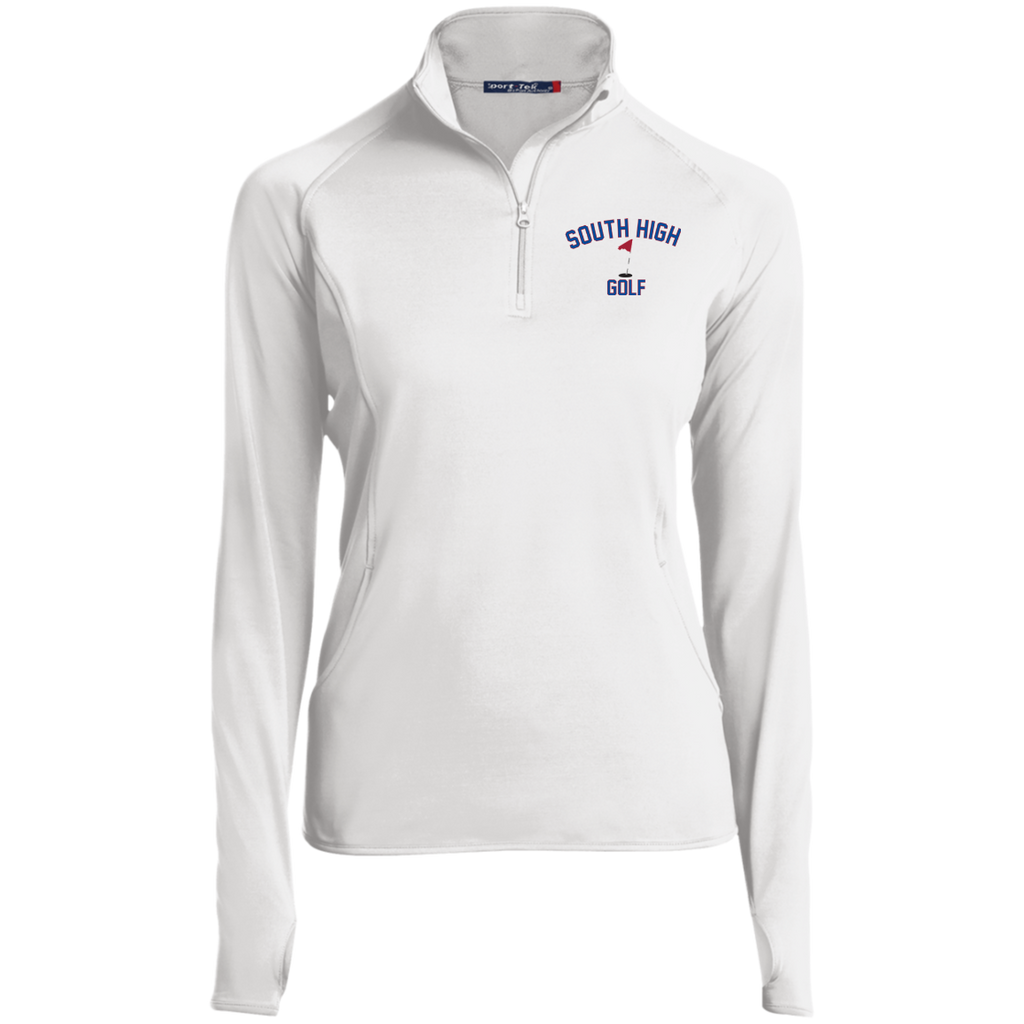 Women's Performance Quarter Zip Sweatshirt - South Glens Falls Golf