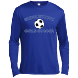 Men's Moisture Wicking Long Sleeve T-Shirt - Middletown Girls Soccer