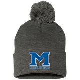 Pom Pom Knit Winter Hat - Middletown