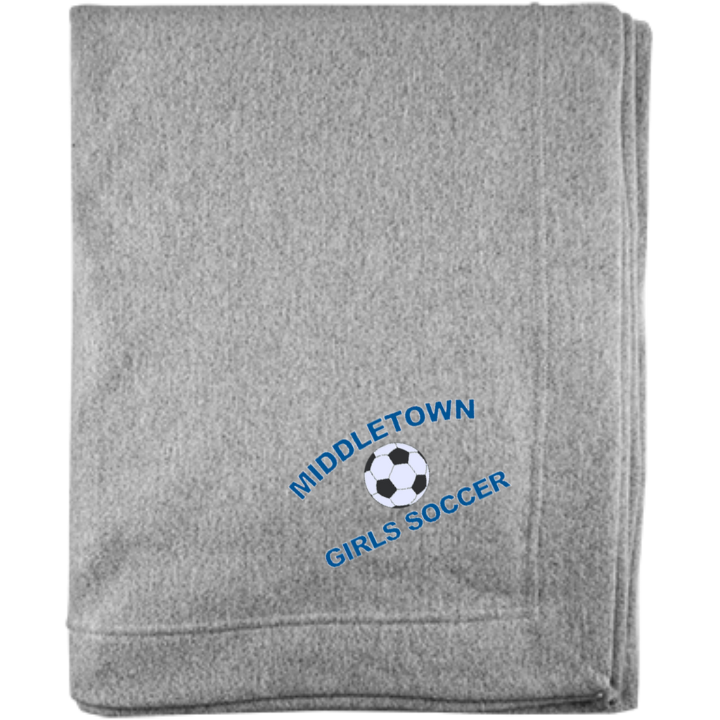 Sweatshirt Blanket - Middletown Girls Soccer