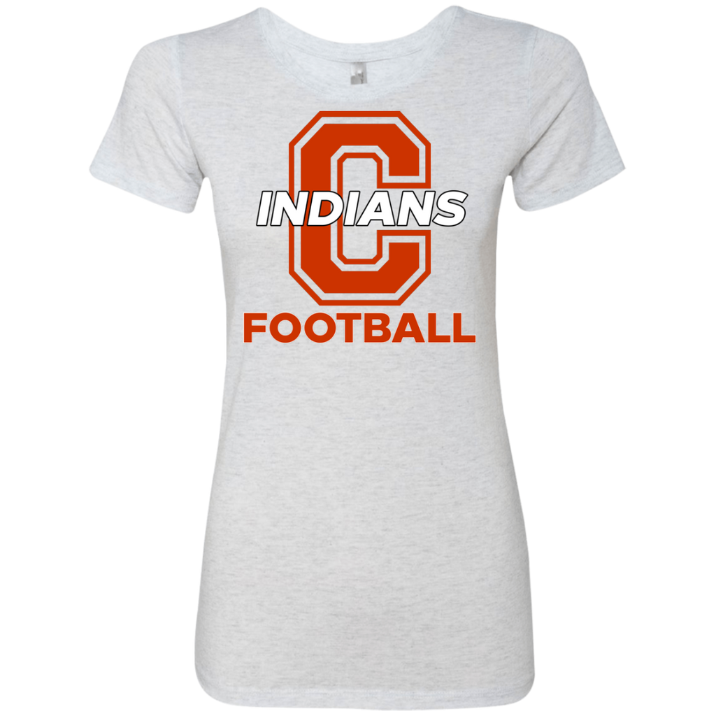 Women's Premium T-Shirt - Cambridge Football - C Logo