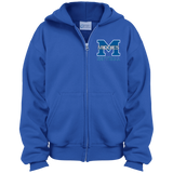 Youth Full-Zip Hooded Sweatshirt - Middletown Softball