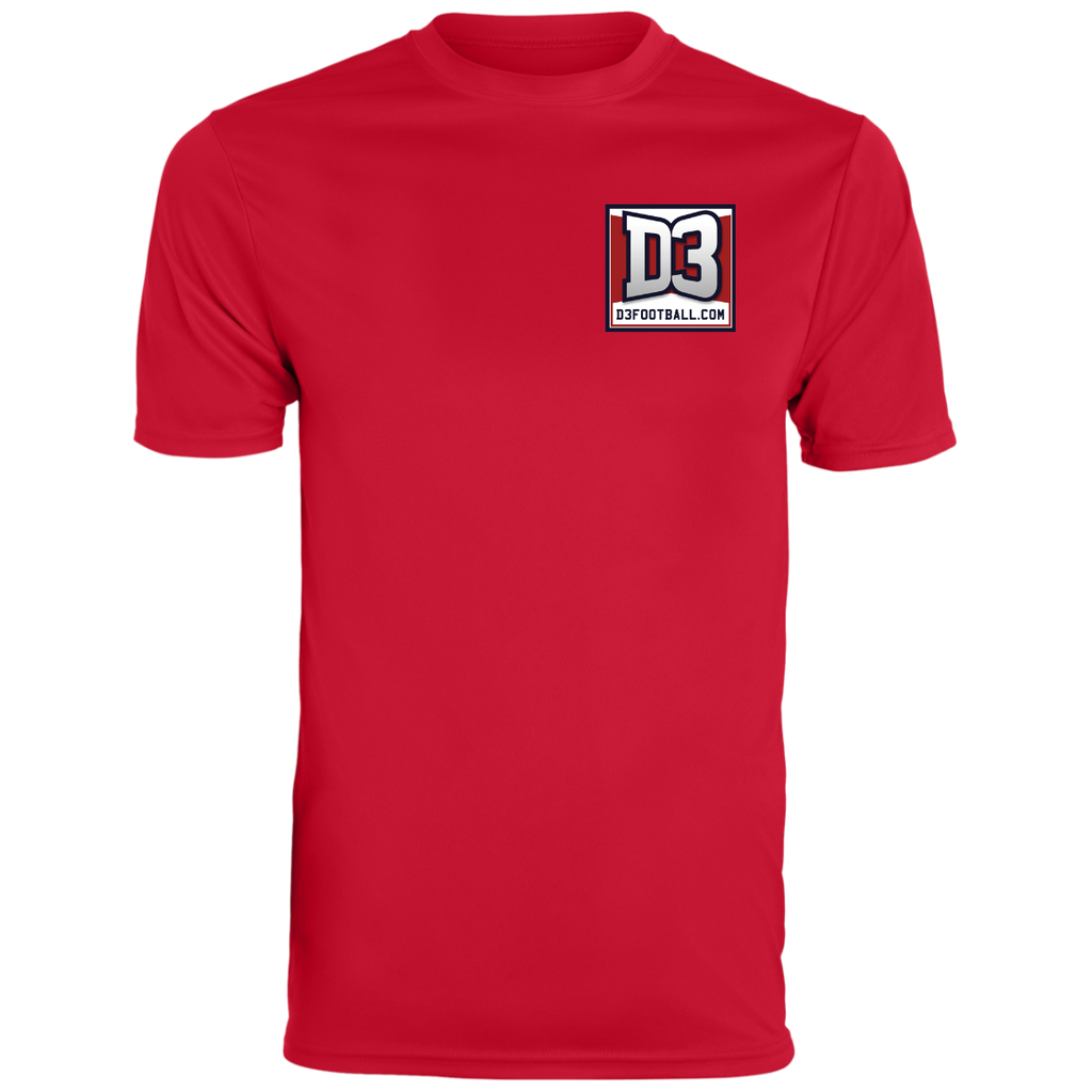 Men's Moisture Wicking T-Shirt - D3Football.com