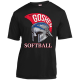 Youth Moisture Wicking T-Shirt - Goshen Softball