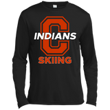 Men's Moisture Wicking Long Sleeve T-Shirt - Cambridge Skiing - C Logo