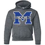 Youth Hooded Sweatshirt - Middletown Middies
