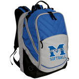 Small Laptop Backpack - Middletown Softball