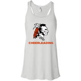 Women's Racerback Tank Top - Cambridge Cheerleading - Indian Logo