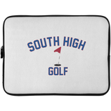 Golf Vector Logo Outine_Pantone Laptop Sleeve - 15 Inch