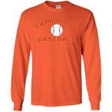 Men's Long Sleeve T-Shirt - Cambridge Baseball