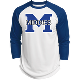 3/4 Sleeve Baseball T-Shirt - Middletown Middies