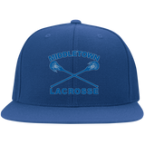 Flex Fit Twill Hat w/ Flat Bill - Middletown Girls Lacrosse - Sticks Logo