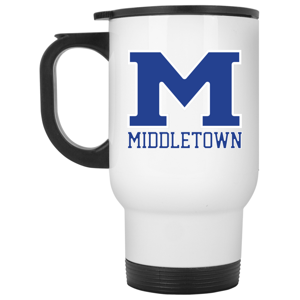 "Travel Coffee Mug - Middletown ""M"""