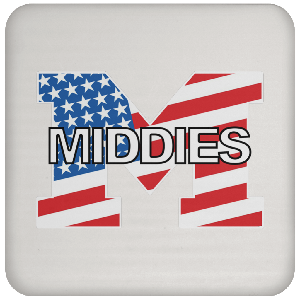 Single Coaster - Middletown American Flag
