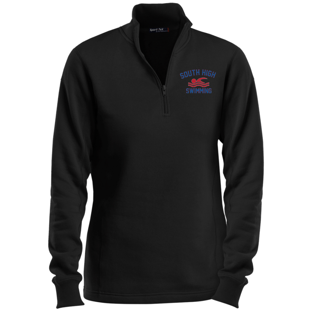 Women's Quarter Zip Sweatshirt - South Glens Falls Swimming