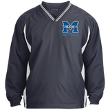 Colorblock V-Neck Pullover - Middletown Softball