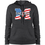 Women's Hooded Sweatshirt - Middletown American Flag
