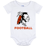 Baby Onesie 12 Month - Cambridge Football - Indian Logo