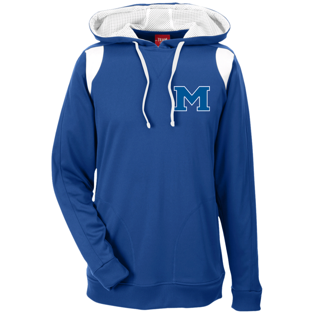 "Men's Colorblock Hooded Sweatshirt - Middletown Block ""M"""