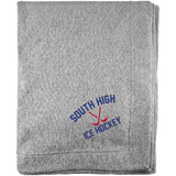 Sweatshirt Blanket - South Glens Falls Ice Hockey