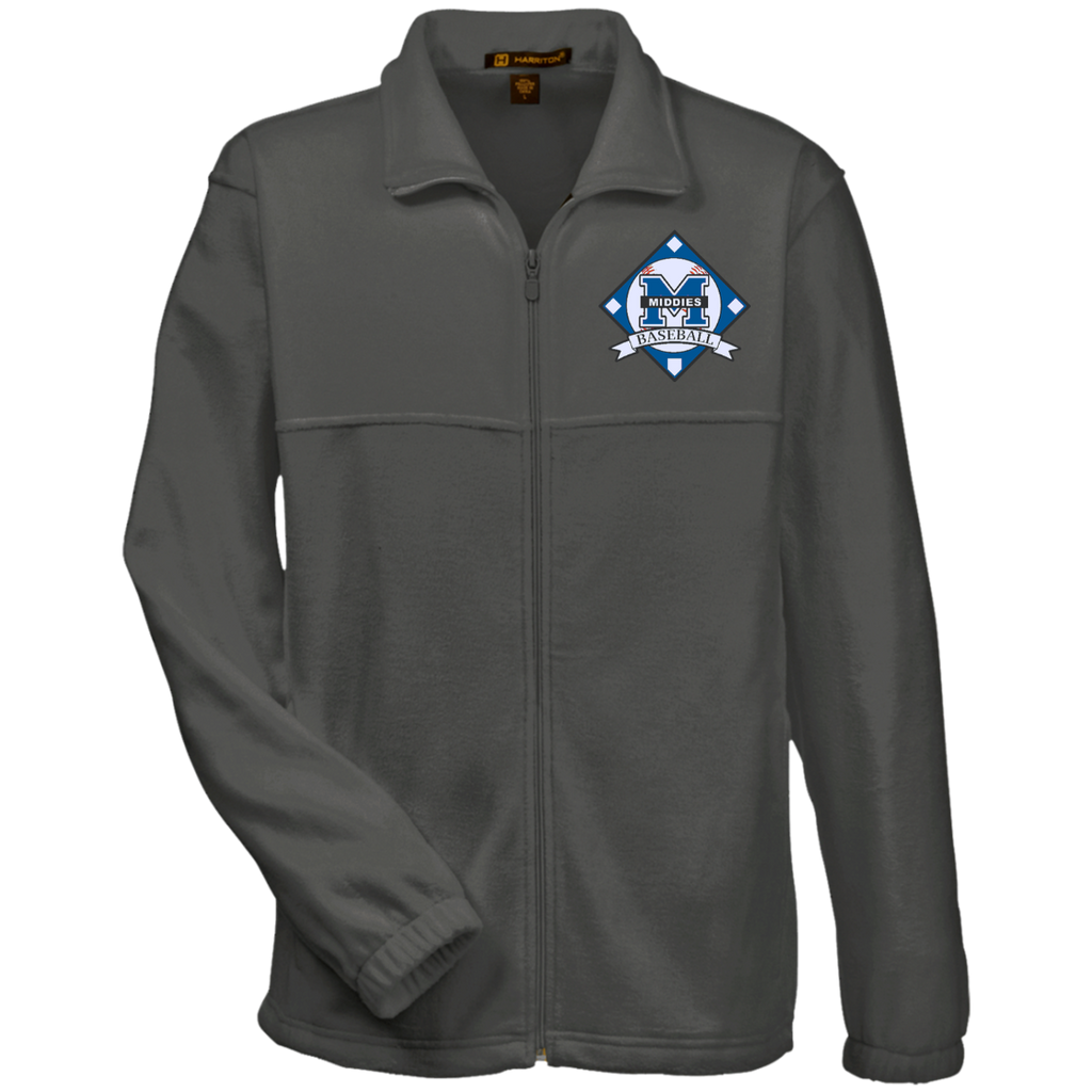 Men's Full-Zip Fleece - Middletown Baseball - Diamond Logo
