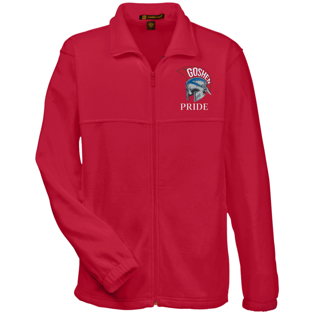 Men's Full-Zip Fleece - Goshen Pride