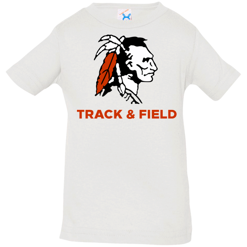 Infant T-Shirt - Cambridge Track & Field - Indian Logo