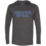 Men's T-Shirt Hoodie - Middletown Softball - Block Logo