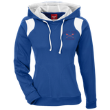Women's Colorblock Hooded Sweatshirt - South Glens Falls Lacrosse