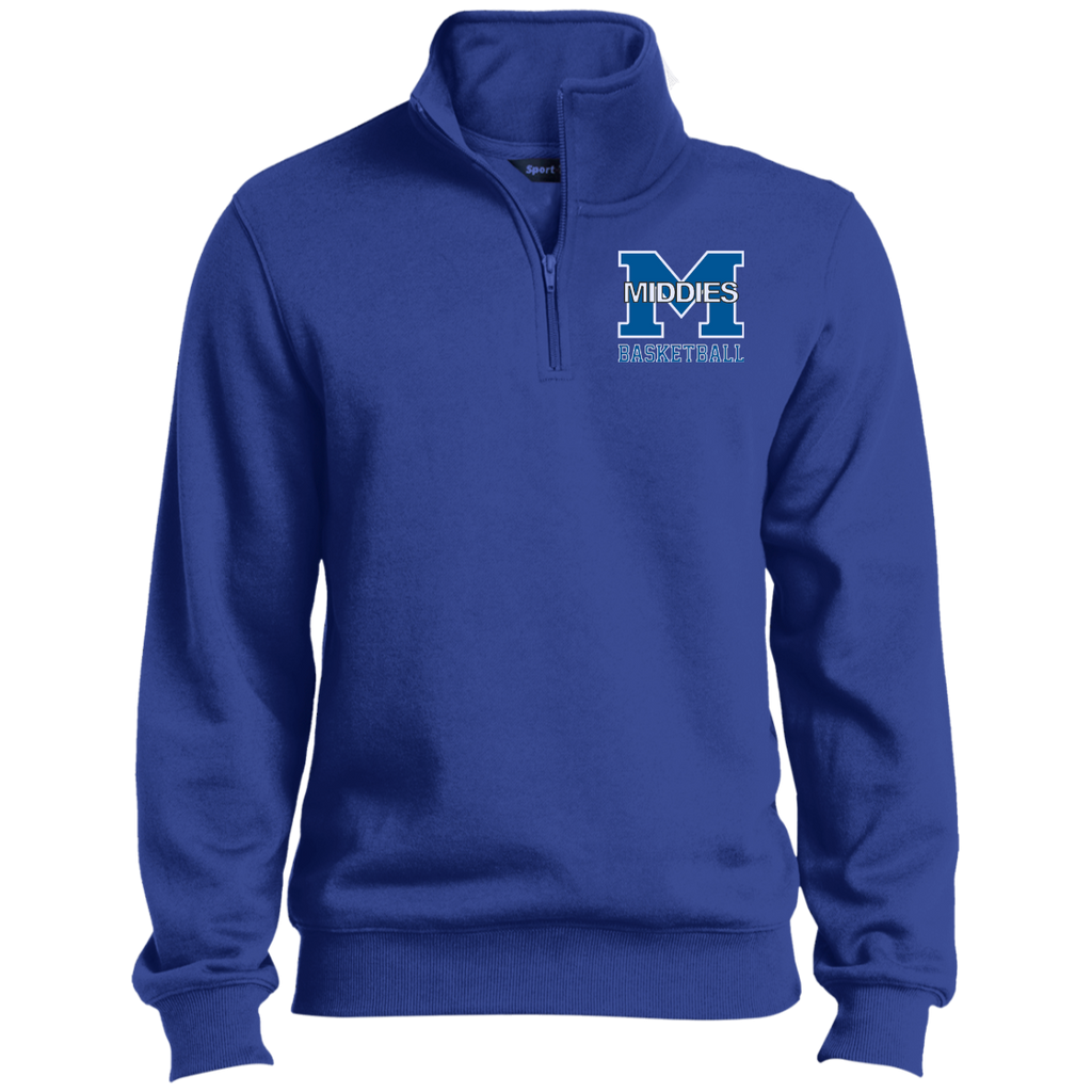 Men's Quarter Zip Sweatshirt - Middletown Girls Basketball
