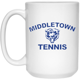 15 oz. Coffee Mug - Middletown Tennis - Bear Logo