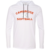 Men's T-Shirt Hoodie - Cambridge Softball