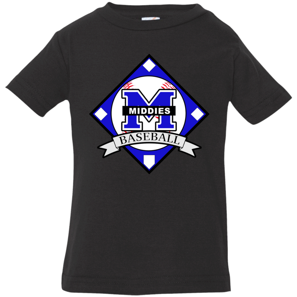 Infant T-Shirt - Middletown Baseball - Diamond Logo