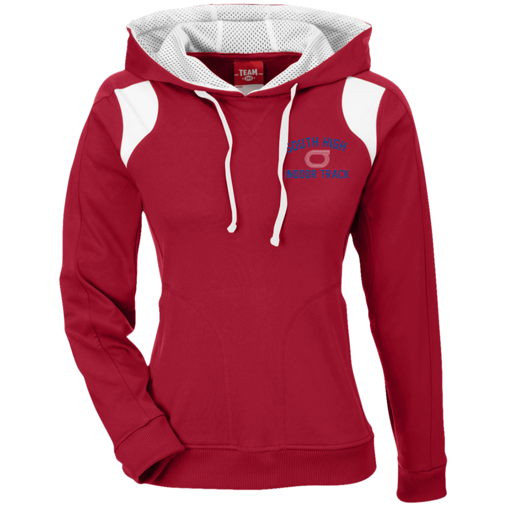Women's Colorblock Hooded Sweatshirt - South Glens Falls Indoor Track