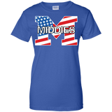 Women's Cotton T-Shirt - Middletown American Flag
