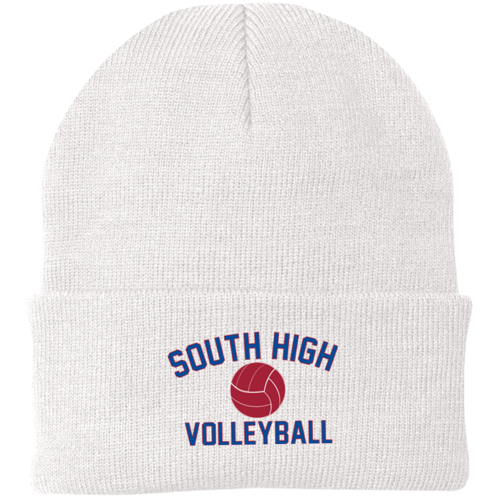 Knit Winter Hat - South Glens Falls Volleyball