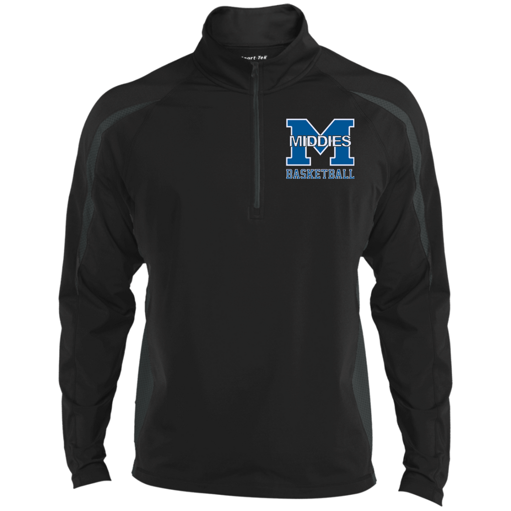 Men's Sport Wicking Half-Zip - Middletown Girls Basketball